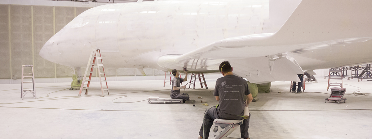 Corporate Aircraft Painting
