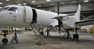 saab 340A cargo
