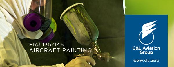 ERJ 135/145 Painting
