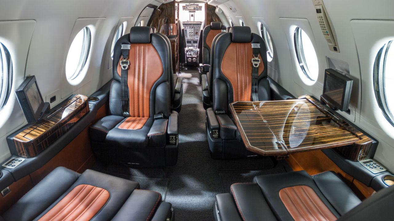 Custom Beechjet Interior