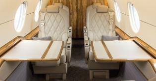 custom Beechjet 400A Interior