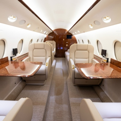 Corporate Aircraft Interior Refurbishment - C&L Aero