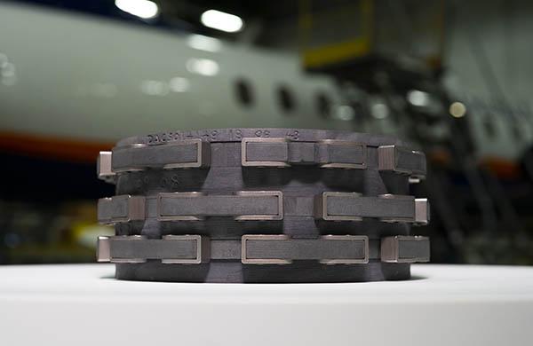 DESSER Carbon Heat Stack for the Saab 340 Brake Overhaul