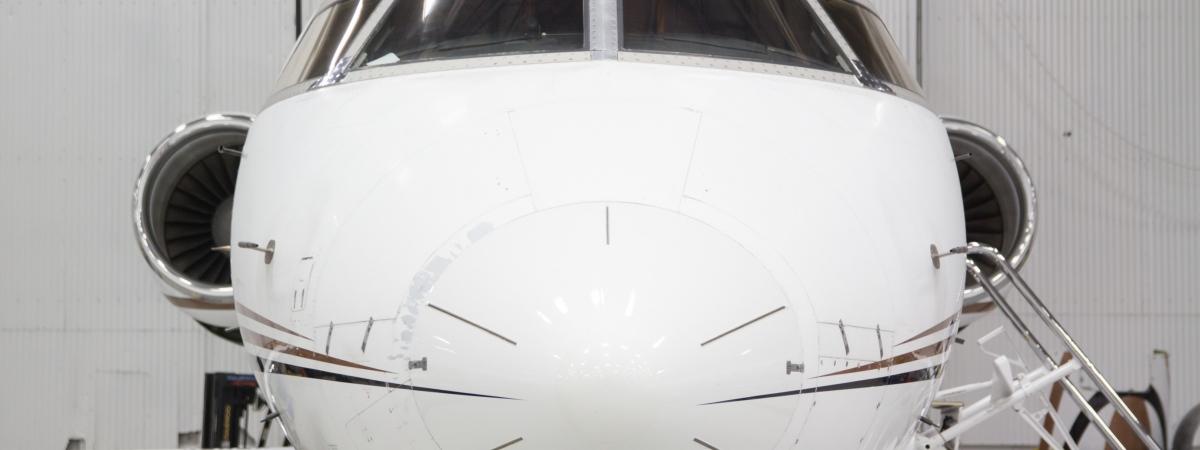 Challenger aircraft windshields
