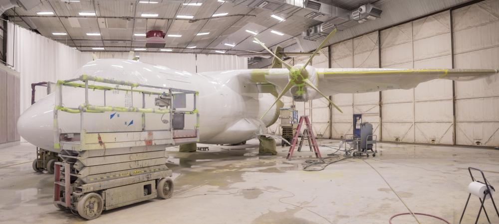 ATR Aircraft Paint Job