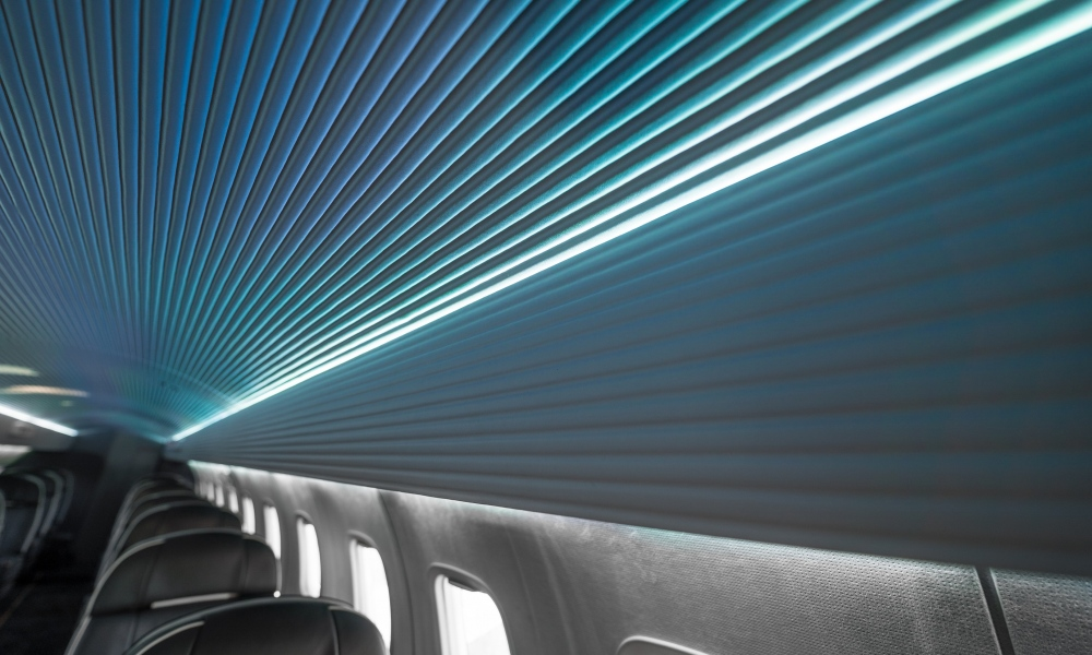 regional jet cabin LED lighting