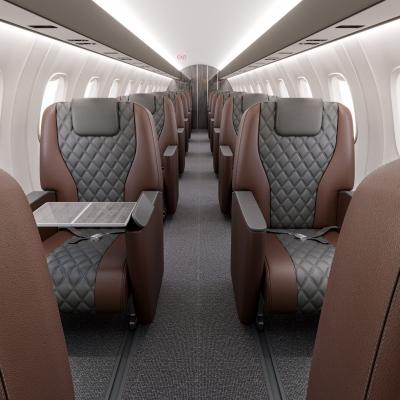 Regional aircraft interior upgrade