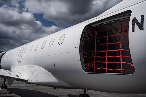 Saab 340B Cargo Aircraft
