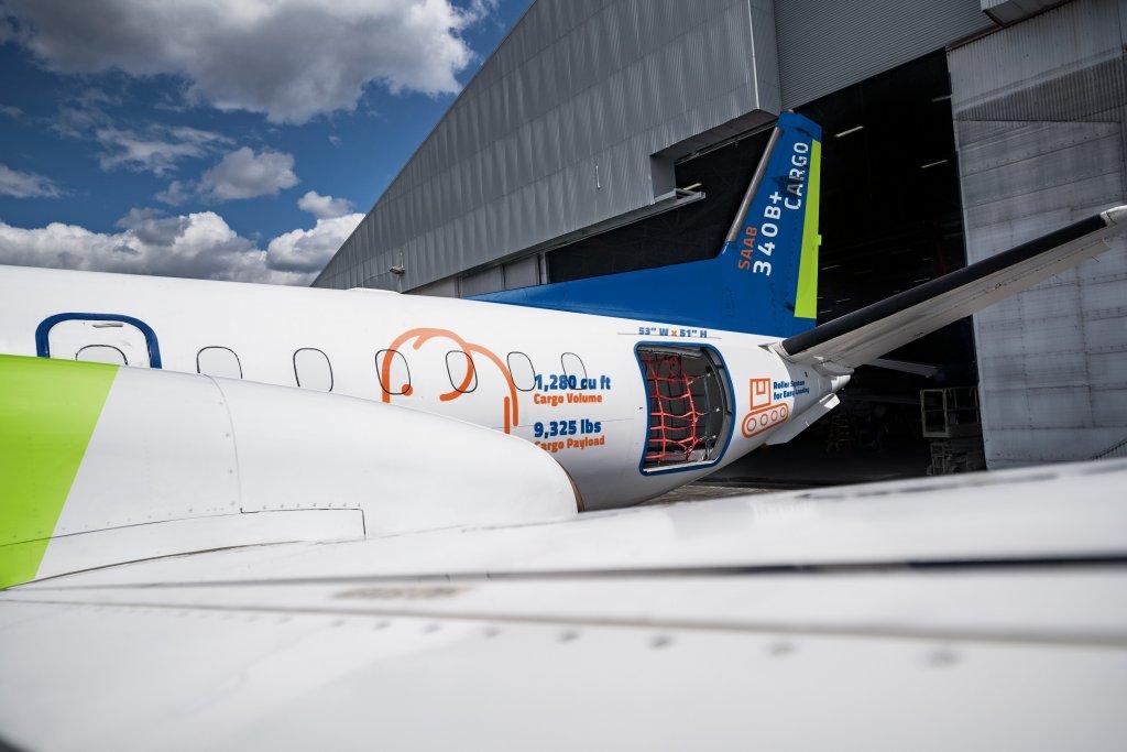 Saab 340B+ Cargo Plane