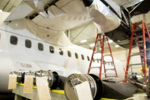 ATR 72 tear down